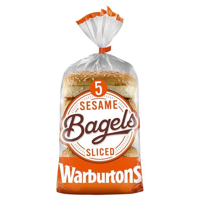 MORRISONS > Bakery > Warburtons Sesame Bagels