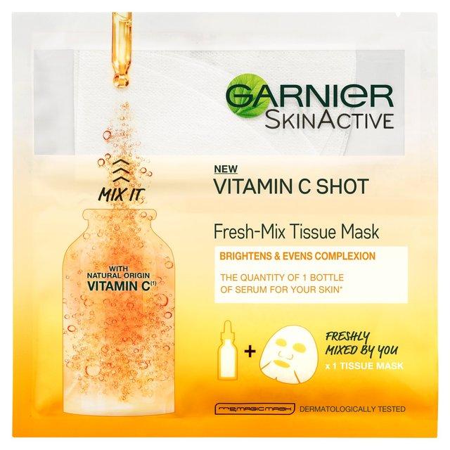 Garnier Skin Active Vitamin C Shot Fresh - Mix Tissue Mask