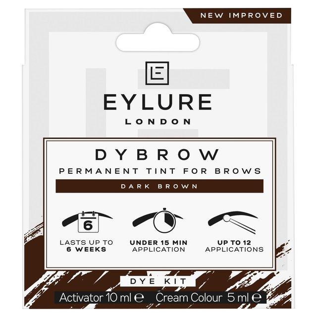Eylure Dybrow Eyebrow Dye Kit Dark Brown