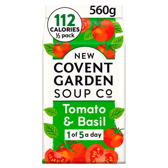 Covent Garden Tomato And Basil Soup