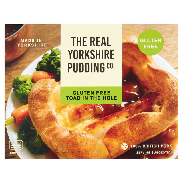 The Real Yorkshire Pudding Co. Gluten Free Toad In The Hole