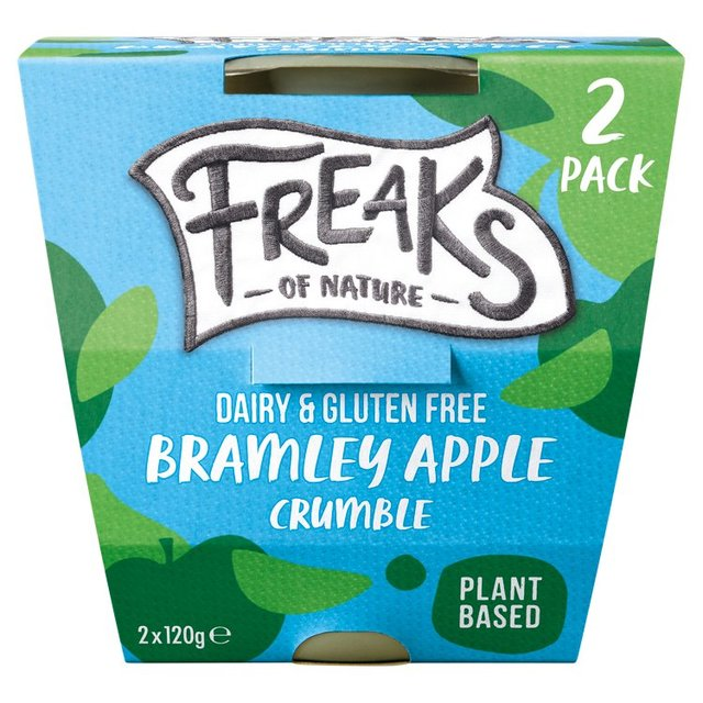 Freaks Of Nature Dairy & Gluten Free Apple Crumble