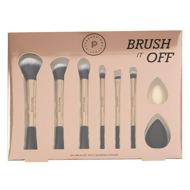 Profusion Brush It Off Makeup Brush Set