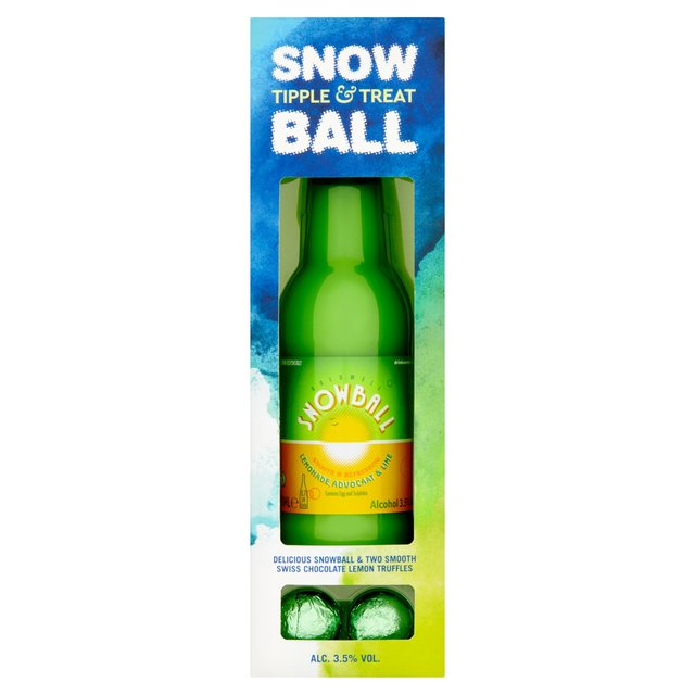 Snowball With Lemon Truffles