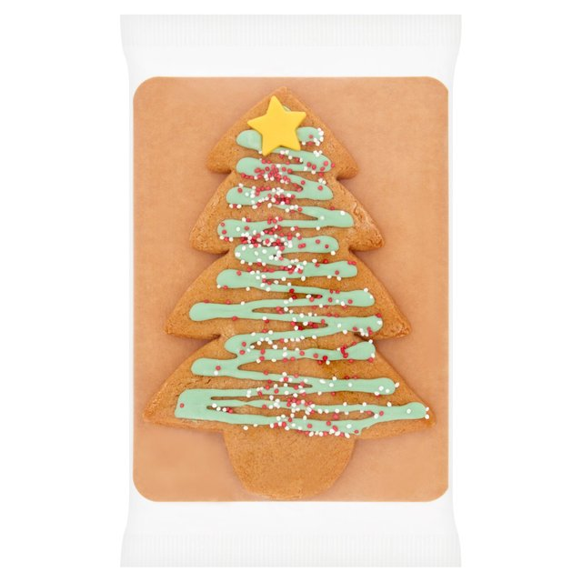 Morrisons Xmas Tree Gingerbread Biscuit