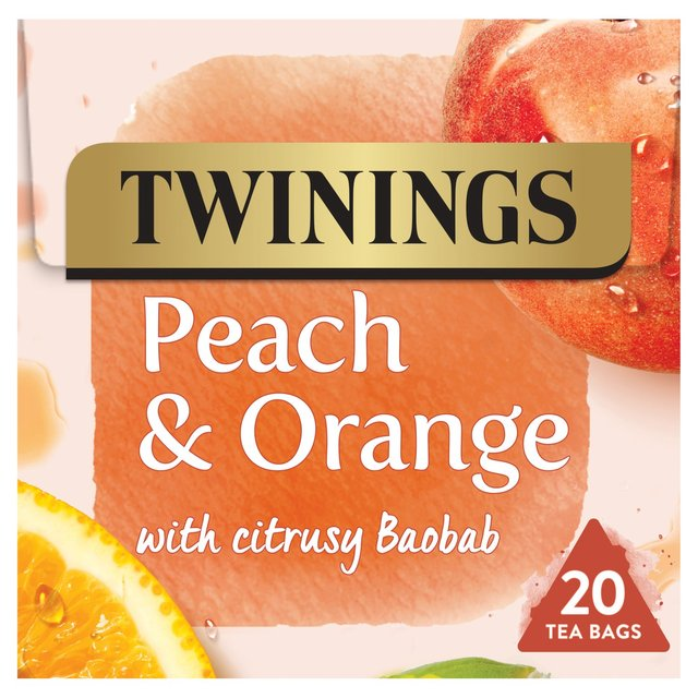 Twinings Peach & Orange 20 Tea Bags