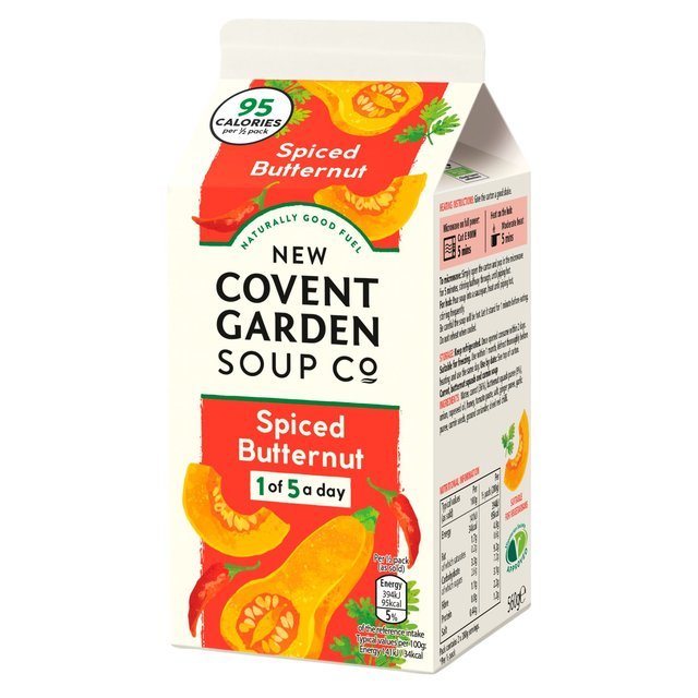 Covent Garden Spinach  & Butternut Squash Soup