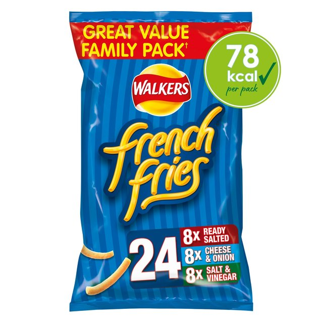 Walkers French Fries Variety Pack