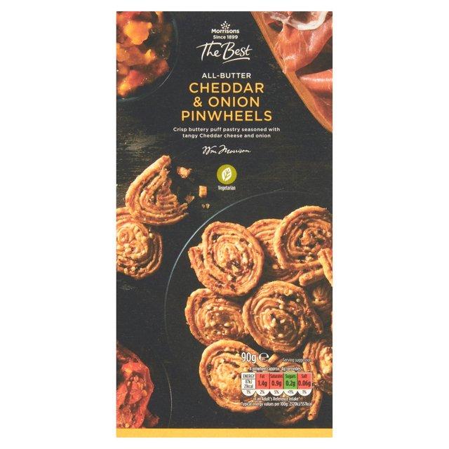 Morrisons The Best Cheddar & Onion Pinwheels