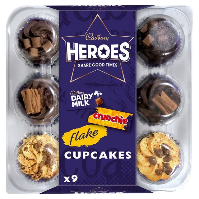 MORRISONS > Bakery > Cadbury Heroes Cupcakes