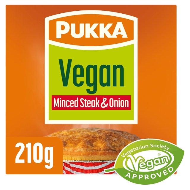 Pukka Vegan Steak & Onion Pie | Morrisons