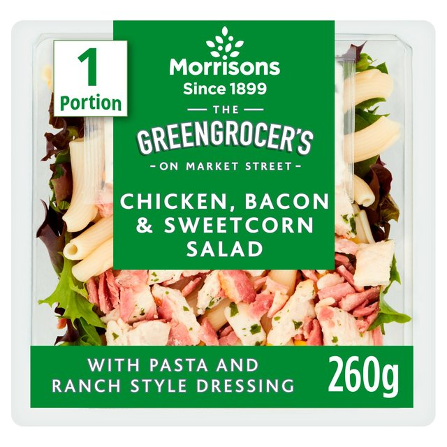 Morrisons Chicken, Bacon And Sweet Corn Pasta Salad