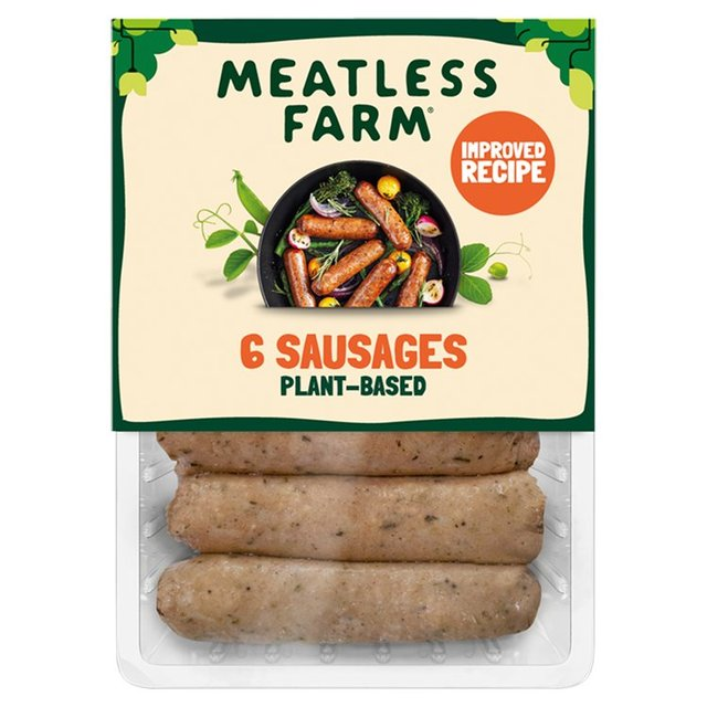 Meatless Farm Plant-Based Sausages