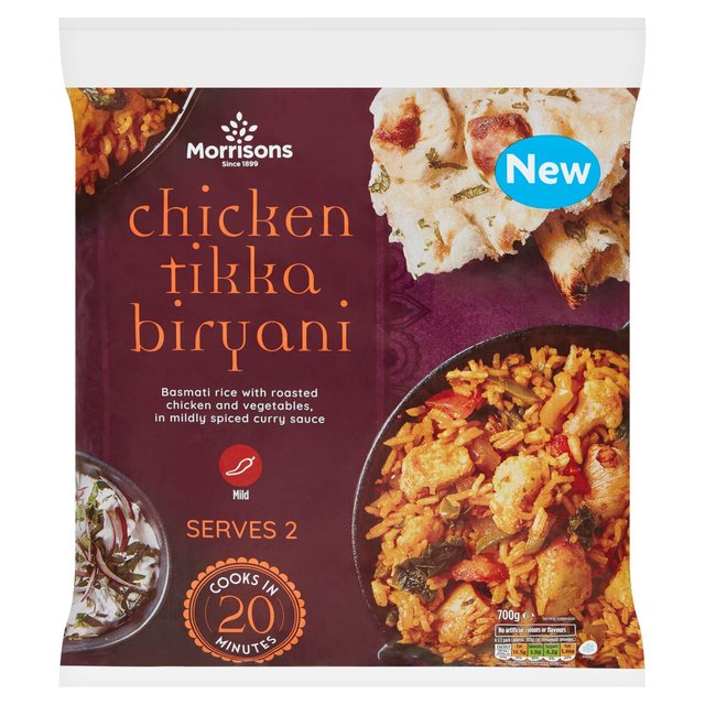 Morrisons Chicken Tikka Biryani