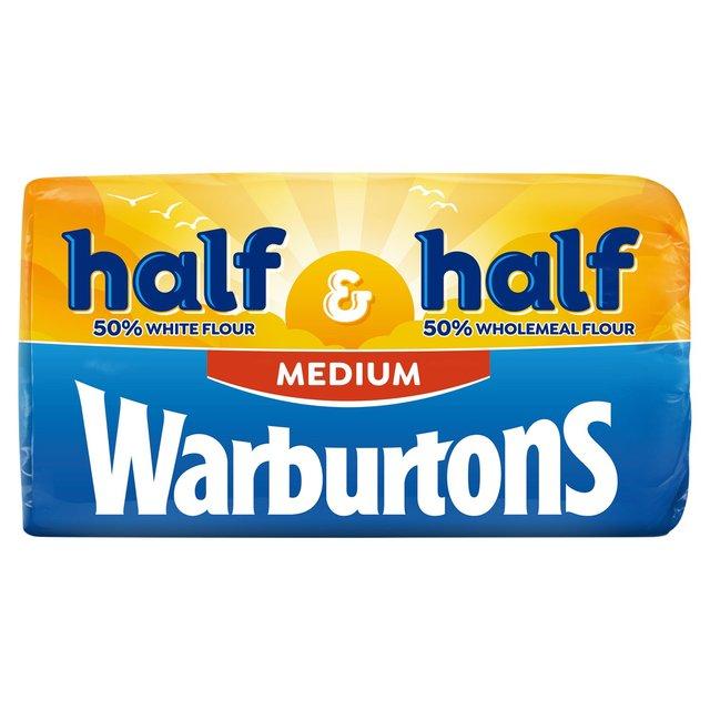 Warburtons Half And Half Medium Bread