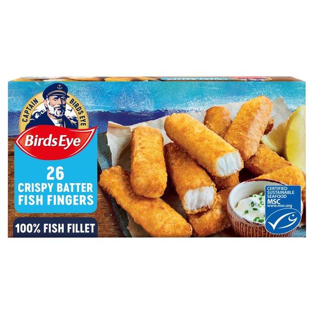 Birds Eye 26 Crispy Fish Fingers