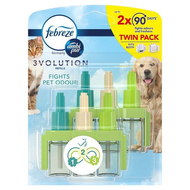 Febreze 3Volution Refills Pet