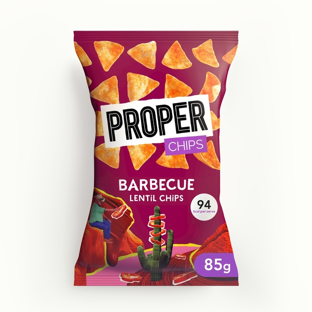 Properchips Barbecue Lentil Chips