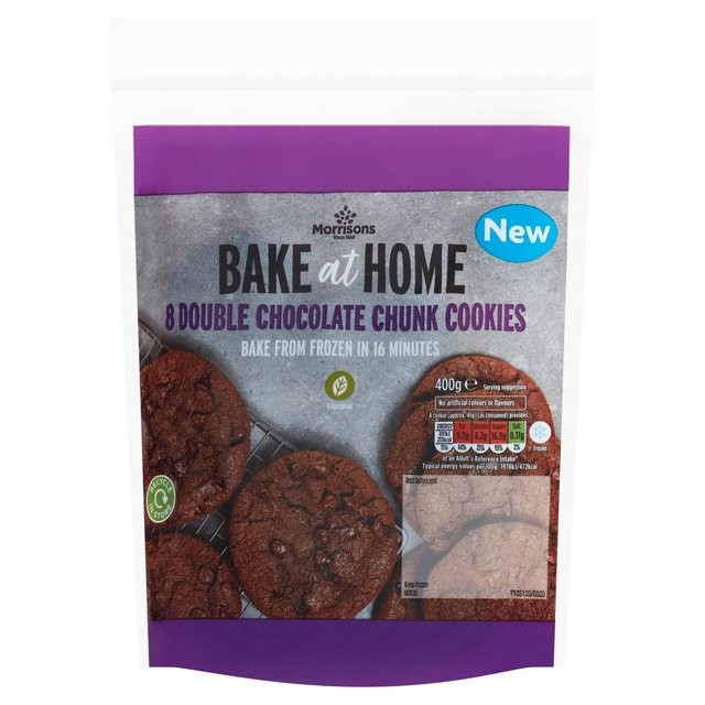 Morrisons Double Chocolate Cookies