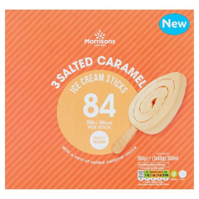 Morrisons Low Calorie Caramel Sticks