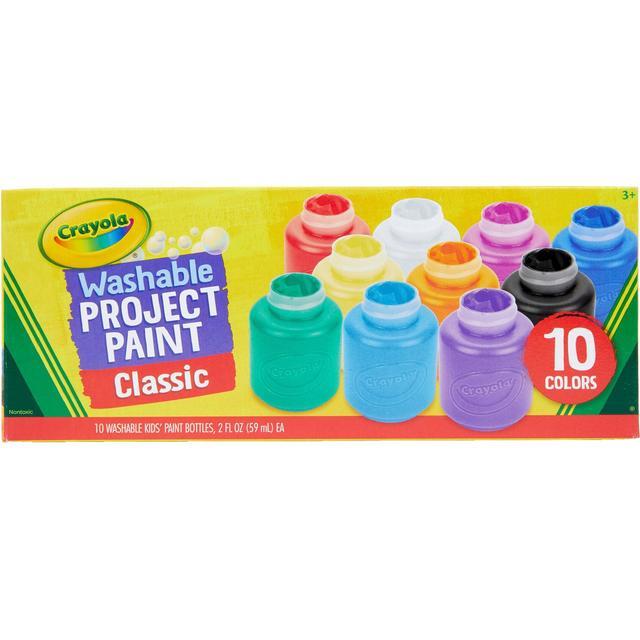 Crayola 10 Washable Kid's Paint