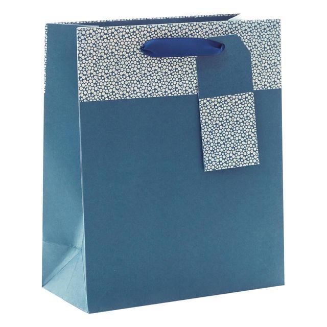 Blue Medium Gift Bag
