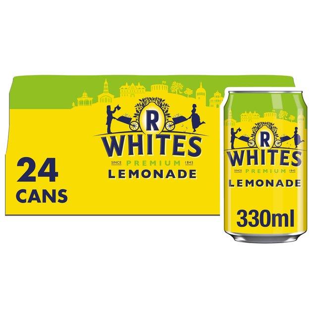 R Whites Lemonade 24 X 330Ml