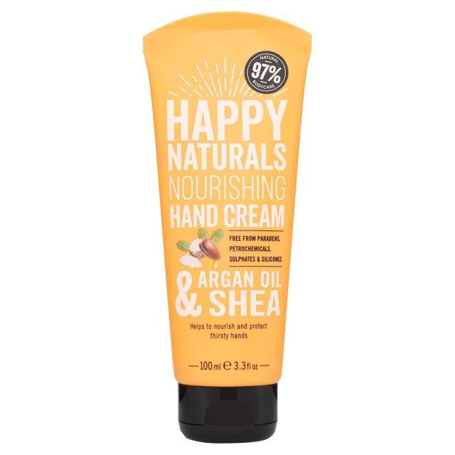 Happy Naturals Nourishing Hand Cream Argan Oil & Shea