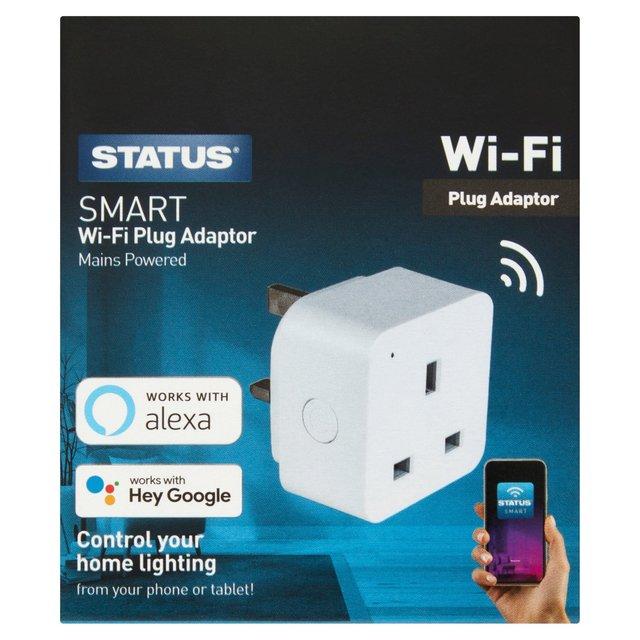 Status Smart Wifi Plug In Socket