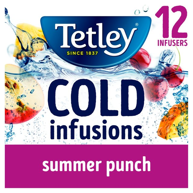 Tetley Cold Infusions Summer Punch Infusers