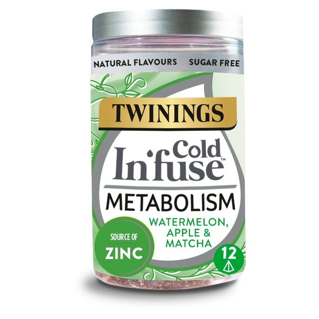 Twinings Cold Infuse Metabolism 12 Infusers