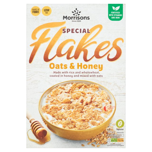 Morrisons Special Flakes Oats & Honey