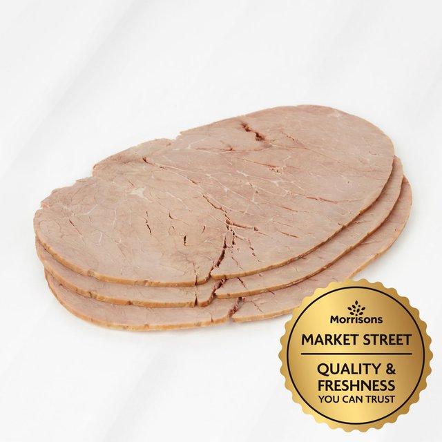 Market Street Deli British Topside Of Beef