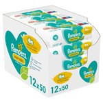 Pampers New Baby Sensitive Baby Wipes 12 x 50 per pack