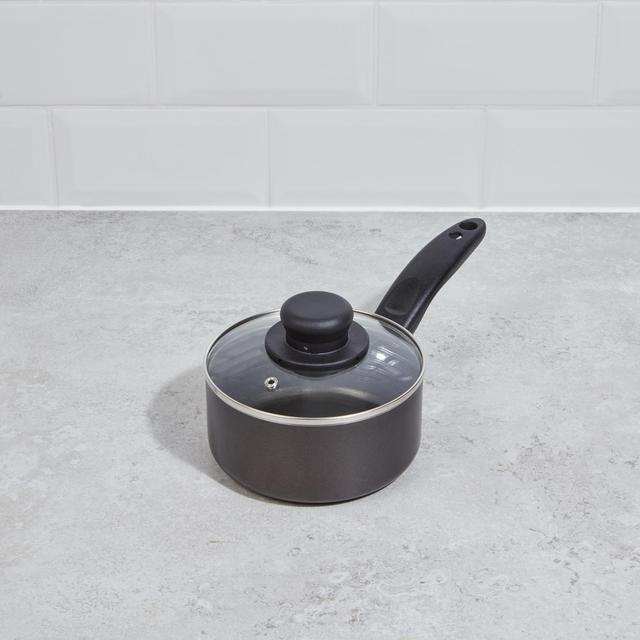 Morrisons Home Aluminium 15Cm Saucepan