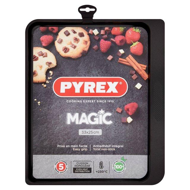 Pyrex Rectangular Metal Oven Tray 33Cm