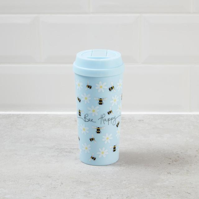 Morrisons Bee Happy Travel Mug