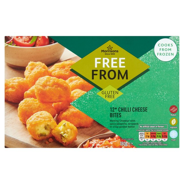Morrisons Free From Chilli Cheese Bites
