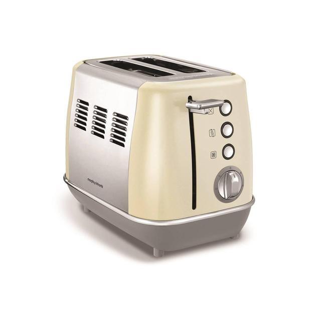 Morphy Richards Evoke 2 Slice Toaster Cream 224407