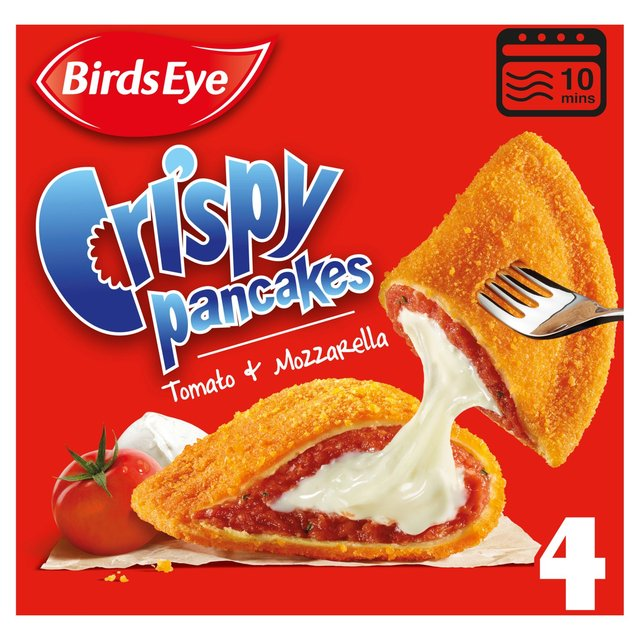 BirdsEye C/Pancakes Tom+Mozz 266G