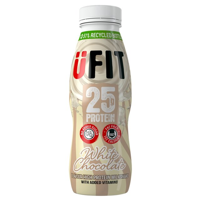 Ufit Protein Drink Ltd Edition White Chocolate