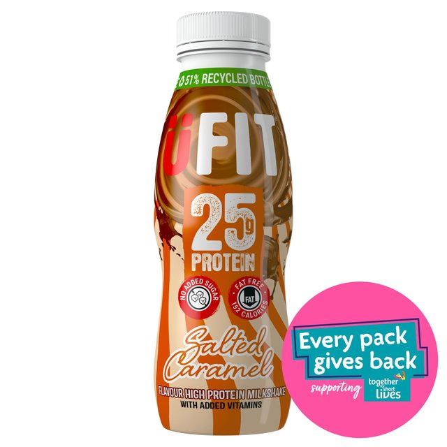 Ufit Protein Drink Salted Caramel