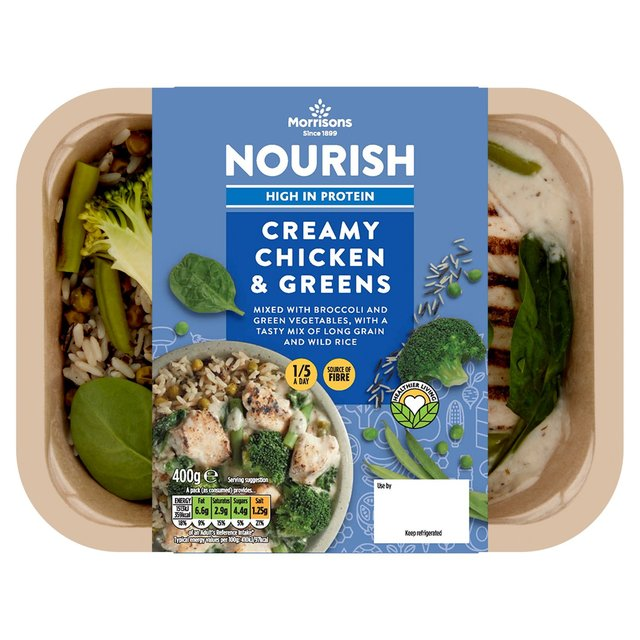 Morrisons Nourish Chicken+Green Vegetable+Broccoli