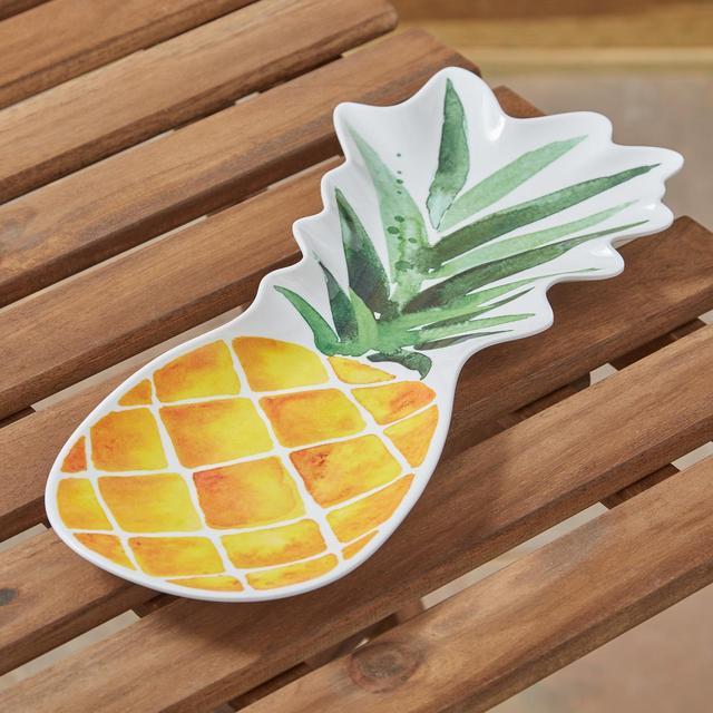 Morrisons Pineapple Shape Serving Platter