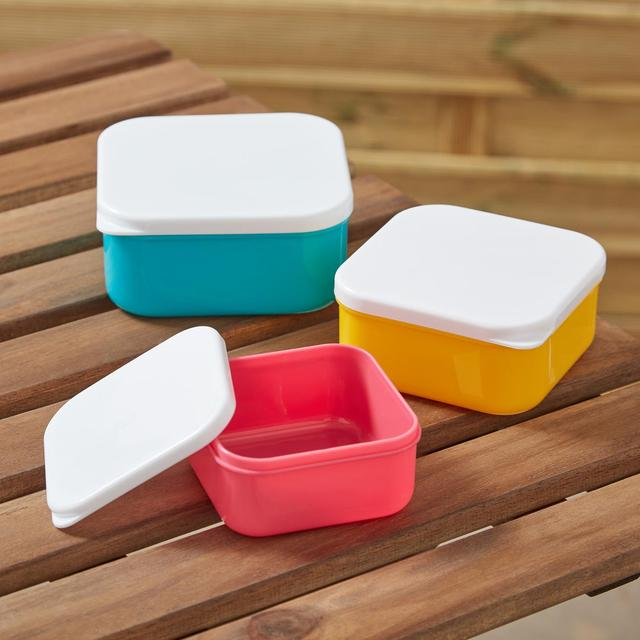 Morrisons Snack Boxes Set Of 3