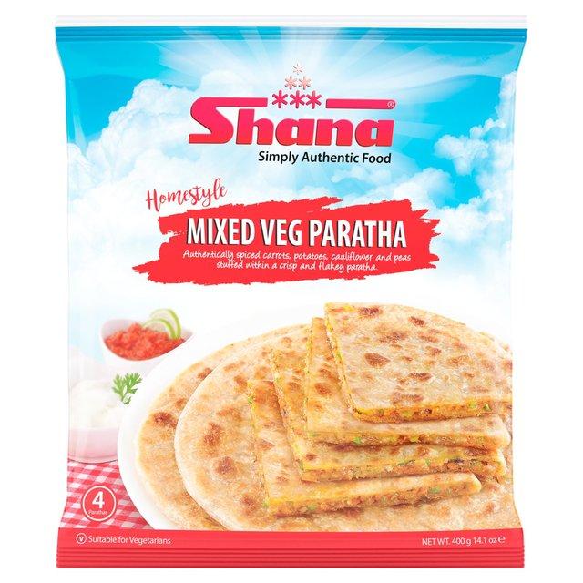 Shana Mixed Vegetable Paratha Parathas