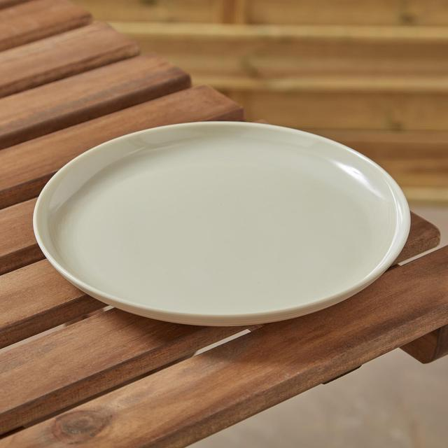 Morrisons Ribbed Side Plate 8.5 Inch