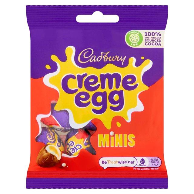 Cadbury Dairy Milk Creme Egg Mini Filled Egg Bag