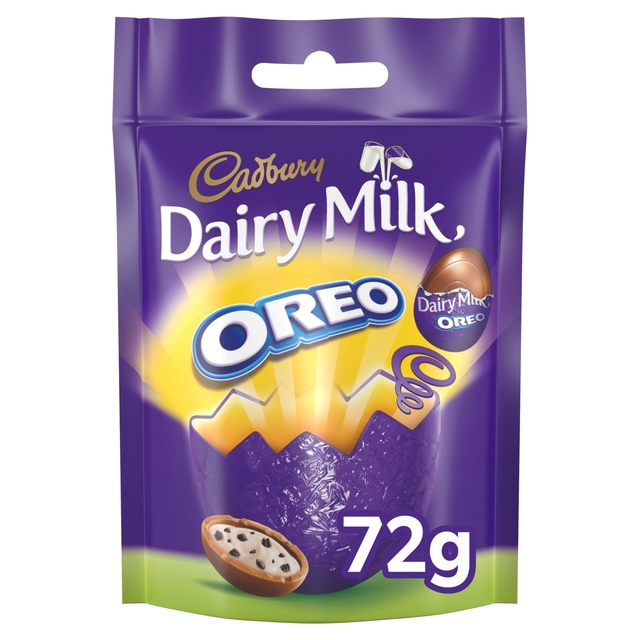 Cadbury Dairy Milk Oreo Mini Filled Eggs Bag