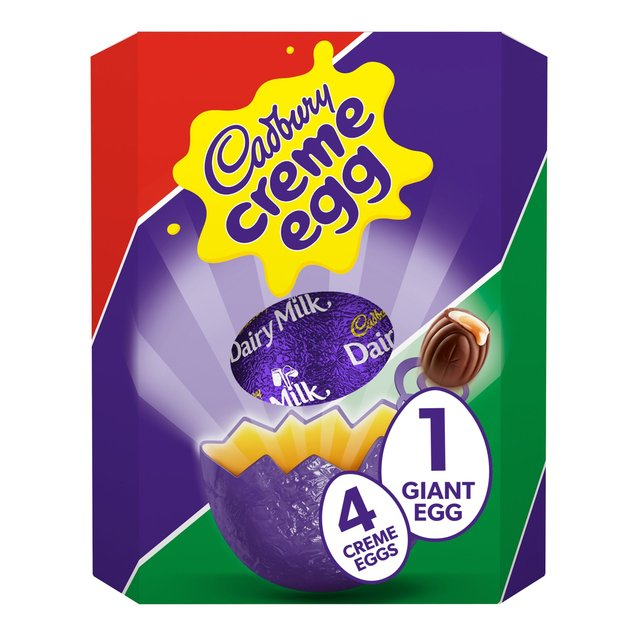 Cadbury Dairy Milk Creme Egg Giant Egg